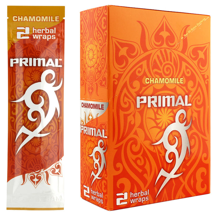 Primal Herbal Wraps Chamomile Flavor - Smoketokes