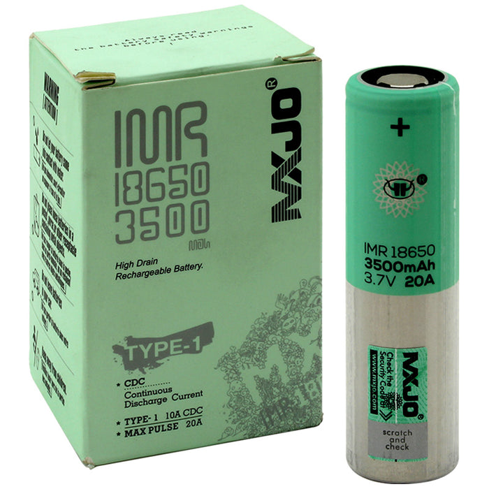 MXJO Type-1 3500mAh 18650 Battery 4-Pack - Smoketokes