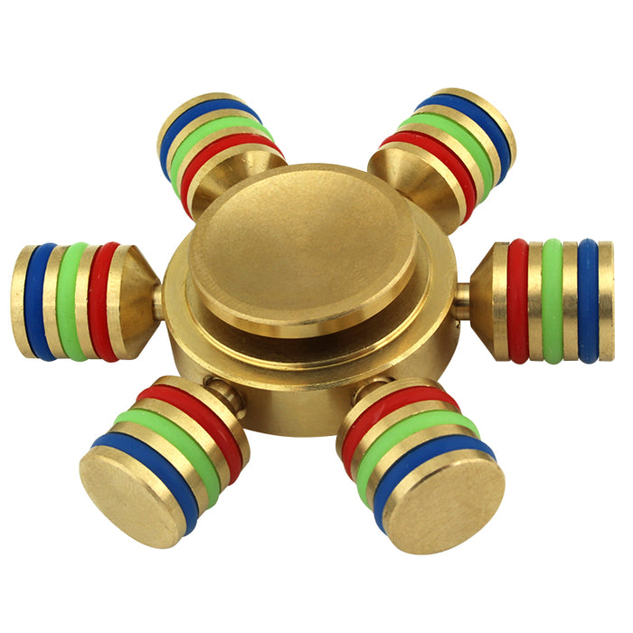 6-Spoke Metal Ball Bearing Hand Spinner - Smoketokes