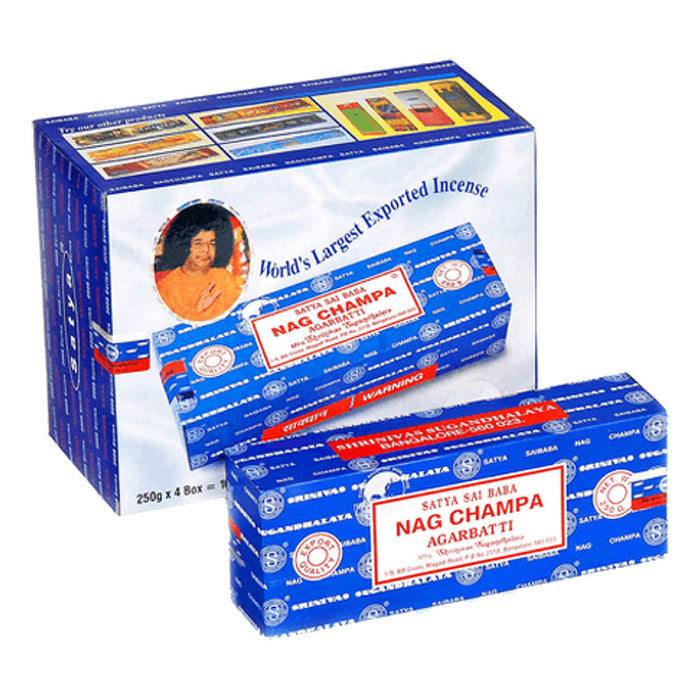 Satya Nag Champa Regular 100g Incense Sticks - Smoketokes