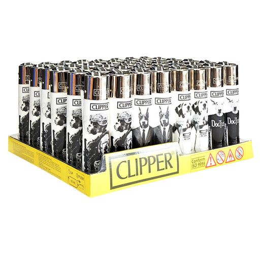 Clipper Doggies Flint Lighter Display - Smoketokes