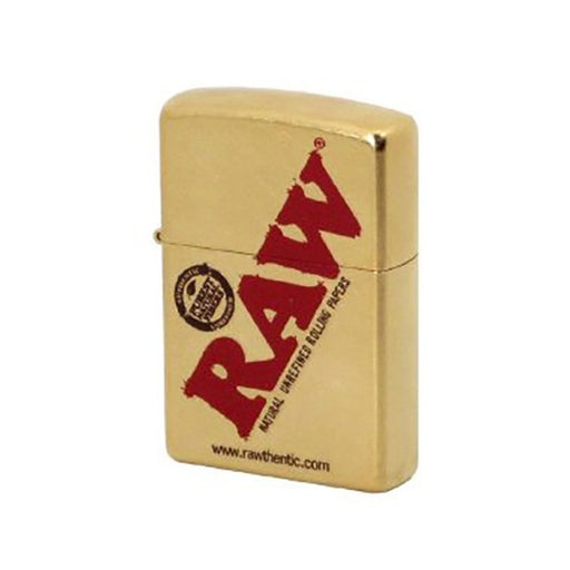 Raw Zippo Gold Lighter - Smoketokes
