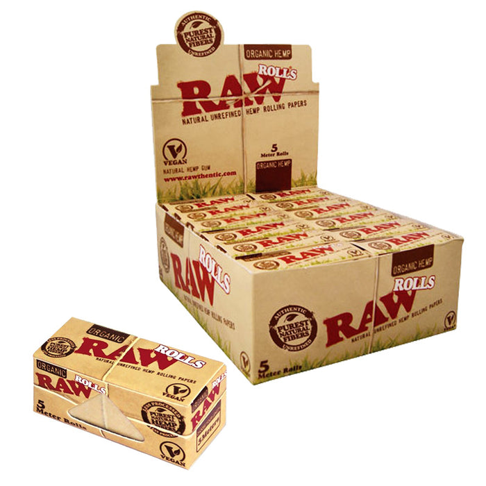 Raw Organic Hemp Rolls - Smoketokes