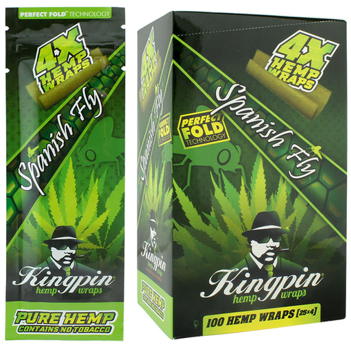 Kingpin Hemp Wrap Spanish Fly Flavor - Smoketokes