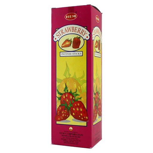 Hem Strawberry Incense Sticks 120 Box - Smoketokes