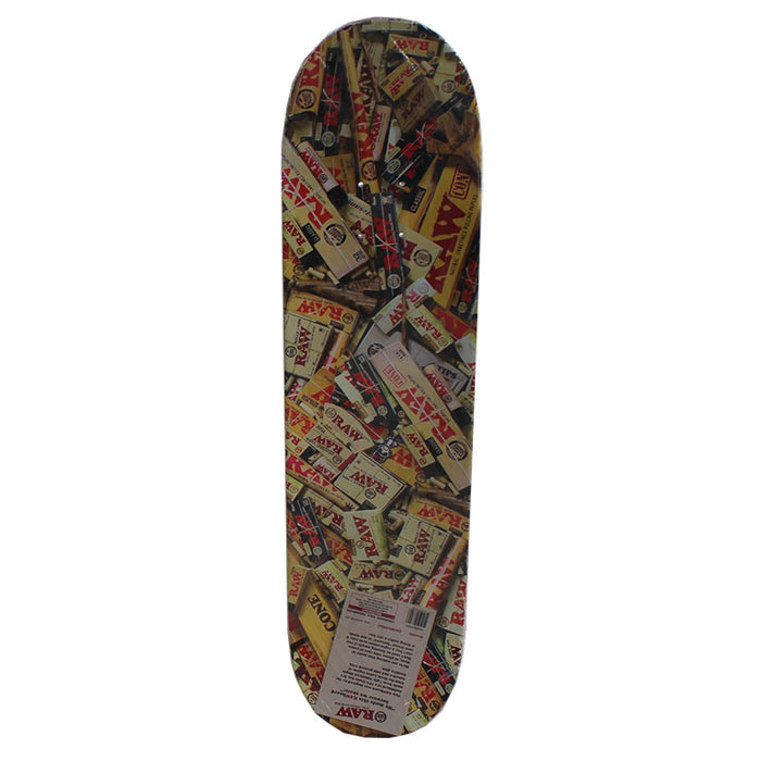 Raw Limited Edition Holographic Skateboard Deck - Smoketokes