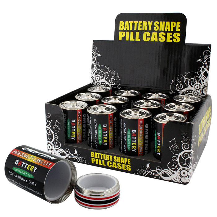 Battery Pill Case Large - Smoketokes