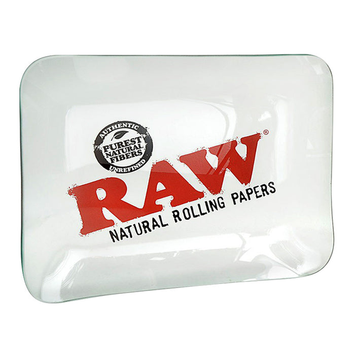 Raw Glass Rolling Tray - Smoketokes