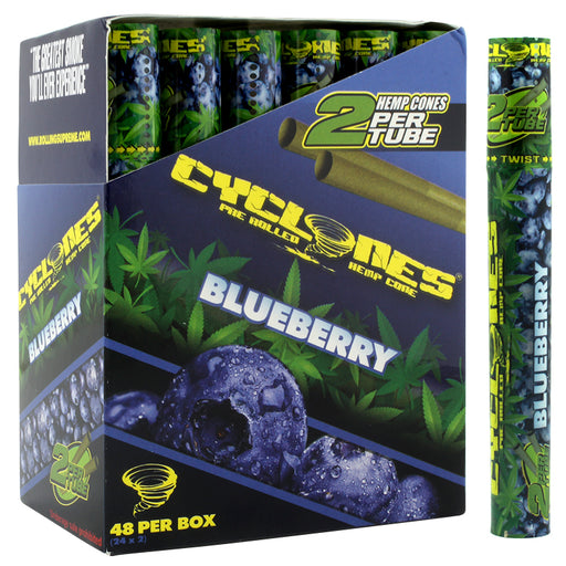 Cyclones Hemp Cone Blueberry Flavor - Smoketokes
