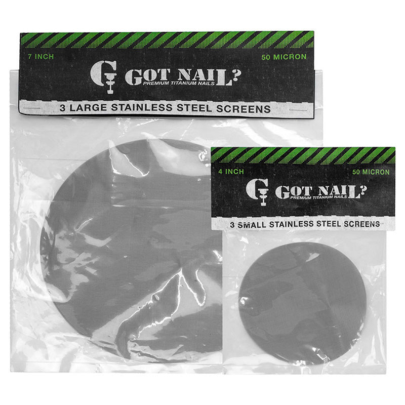 Stainless Steel Screens by Got Nail? - Smoketokes