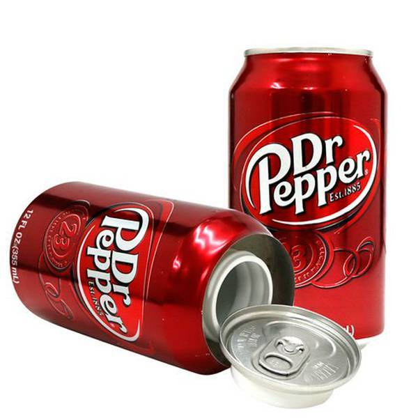 Dr Pepper 8oz Soda Safe Can