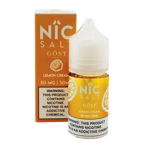 Nic Salt - Lemon Cream (30mL) - GOST Vapors