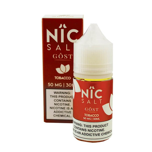 Nic Salt - Tobacco (30mL) - GOST Vapors