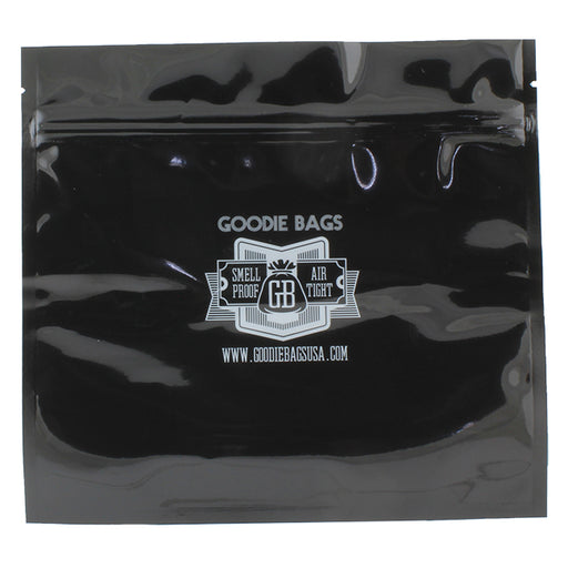 Goodie Bags Smell Proof Ziplock Large Black
