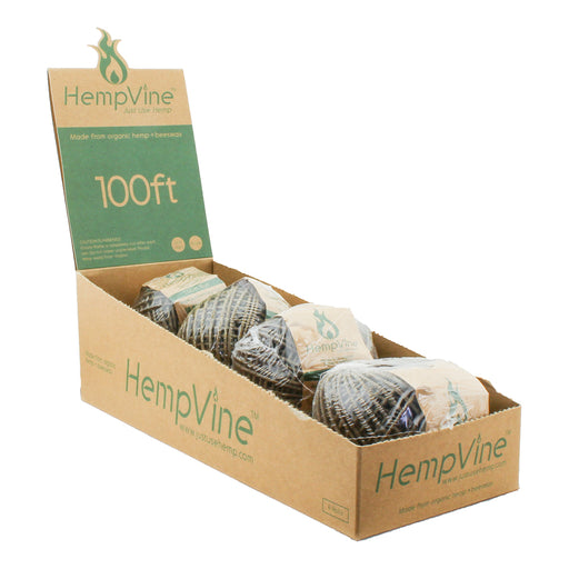 HempVine 100' Ft. Hemp Wick Spool