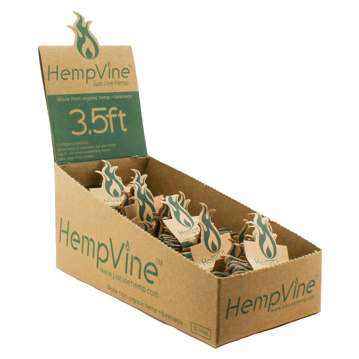 HempVine 3.5' Ft. Hemp Wick Spool