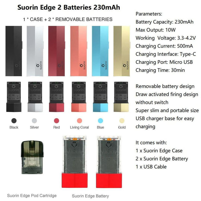 Suorin Edge Vape Kit