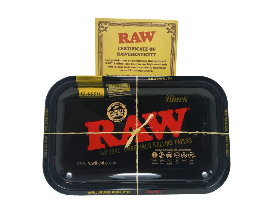 RAW Black Rolling Tray (Limited Edition)