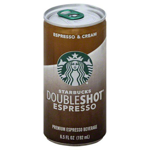 Starbucks Double Shot Espresso Shot Safe Can