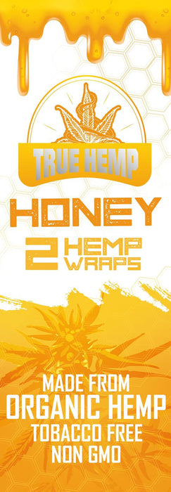 True Hemp Honey Organic Wraps