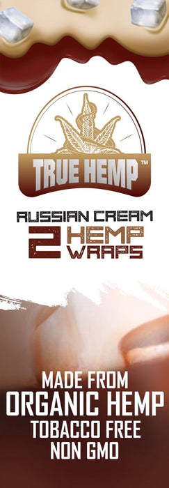 True Hemp Russian Cream Organic Wraps