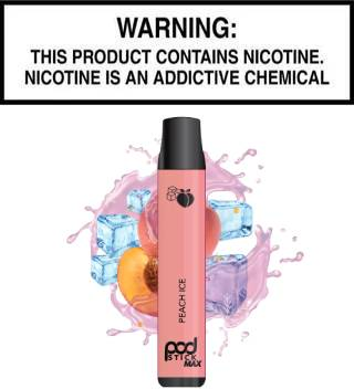 PodStick Max - Peach Ice (Disposable Device)