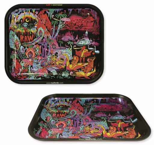 RAW X Ghost Shrimp 2 Rolling Tray