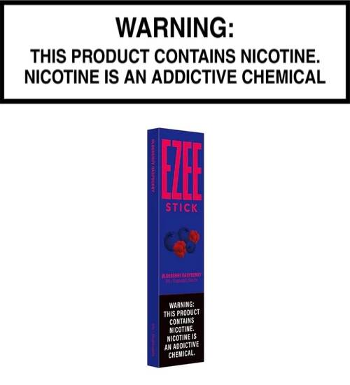 Ezee Stick - Blueberry Raspberry (Disposable Device)