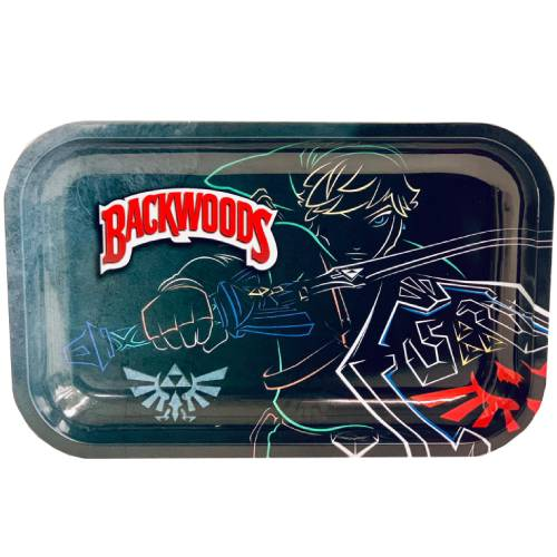 Backwoods Zelda Link Rolling Tray