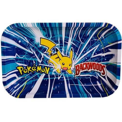 Backwoods Pokemon Pikachu Rolling Tray
