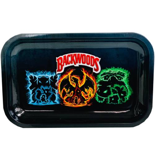 Backwoods PokeMon Evolution Rolling Tray