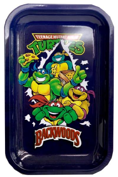 Backwoods Ninja Turtle Rolling Tray