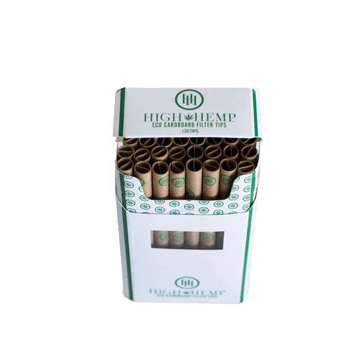 High Hemp Eco Cardboard Filter Tips