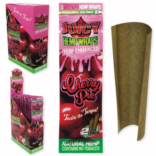 Juicy Jay's Cherry Pie Hemp Wraps