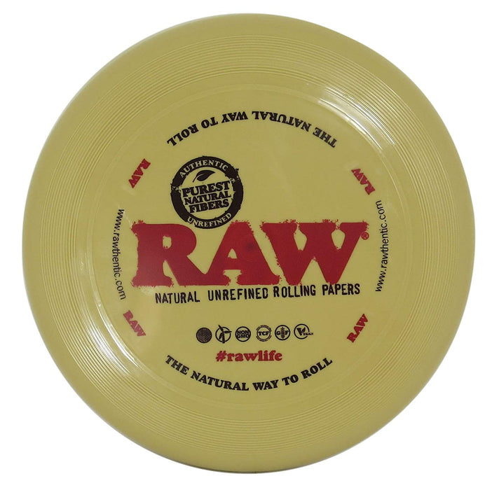 RAW Rolling Papers Flying Disc Frisbee