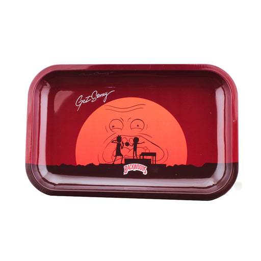 "Backwoods Rick & Morty ""Get Stoney"" Rolling Tray"