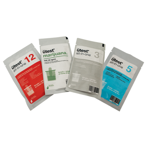 3 Panel Drug Test Kit U-test - THC, Cocaine, Meth