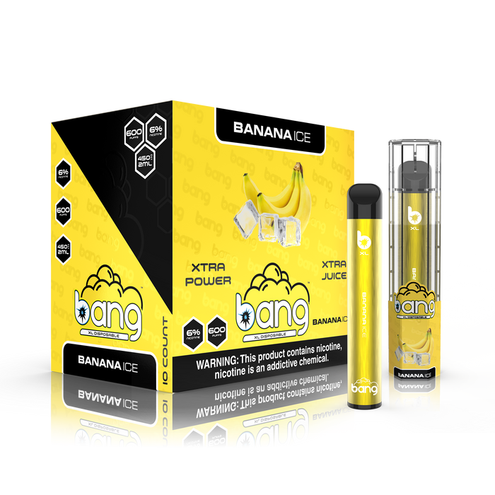 Bang XL - Banana Ice (Disposable Device)