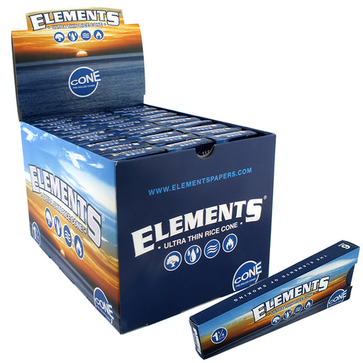 "Elements Cone 1 1/4"" Size - Smoketokes"