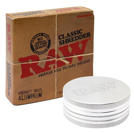 Raw 2pc Classic Shredder Grinder - Smoketokes