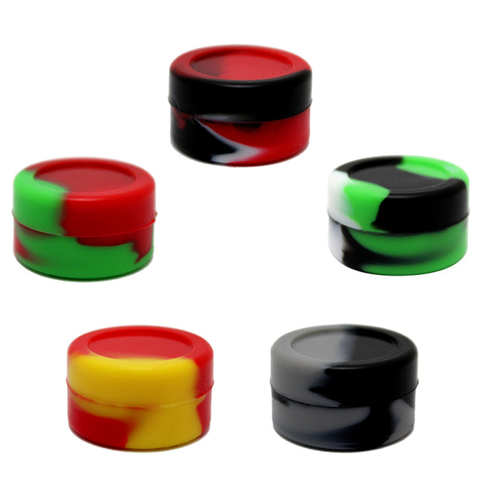 7ml Marbled Silicone Jar - Smoketokes