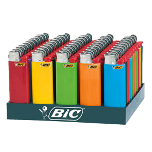 Bic Mini Flint Lighter Display - Smoketokes