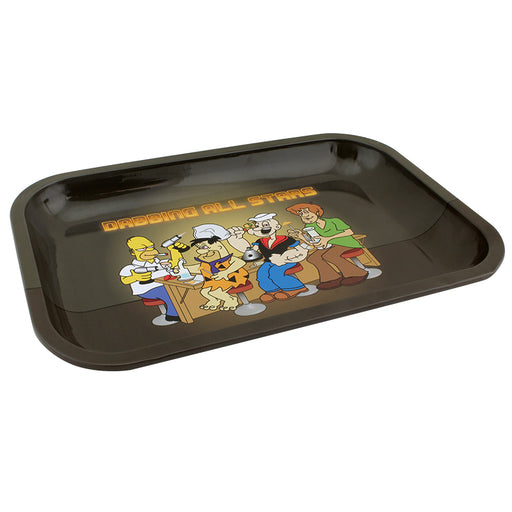 Dabbing All Stars Small Metal Rolling Tray - Smoketokes