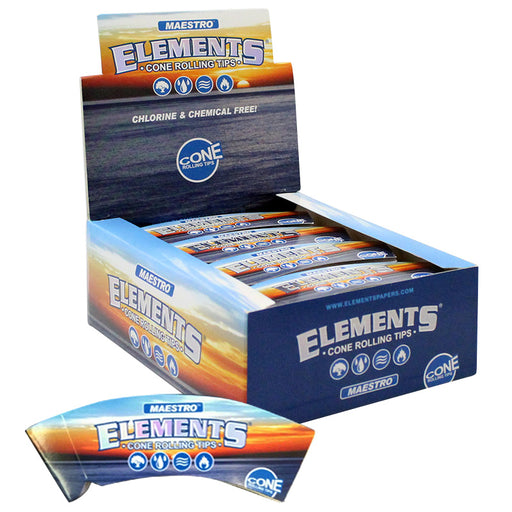 Elements Maestro Slim Cone Rolling Tips - Smoketokes