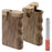 "3"" Natural Handgrip Wooden Dugout - Smoketokes"