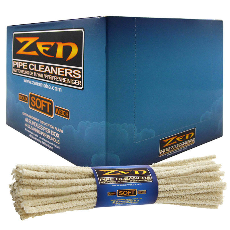 Zen Soft Pipe Cleaners Box - Smoketokes