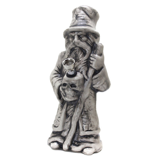 "10"" Wizard Ceramic Water Pipe - Smoketokes"