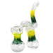 "10"" Double Chamber Glass Bubbler - Smoketokes"