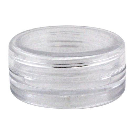 Clear 3ml Acrylic Jar - Smoketokes