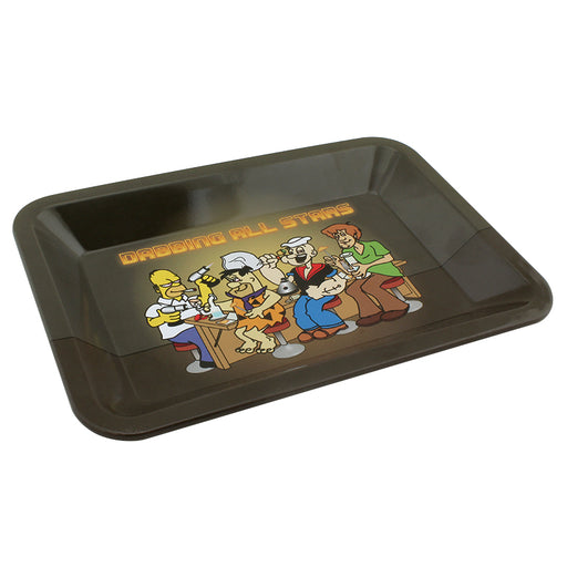 Dabbing All Stars Mini Metal Rolling Tray - Smoketokes